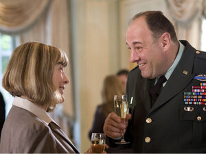 Mimi Kennedy and James Gandolfini in 'In the Loop'