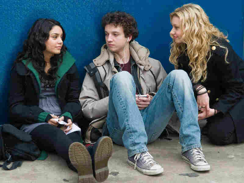 Vanessa Hudgens, Gaelan Connell and Alyson Michalka in 'Bandslam'