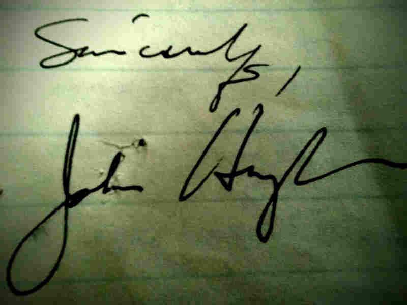 John Hughes' signature