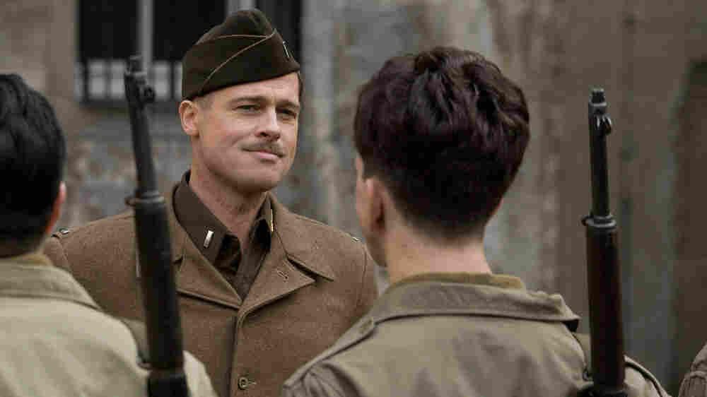 W: Lt. Aldo Raine (Brad Pitt) in Quentin Tarantino's 'Inglourious Basterds.'