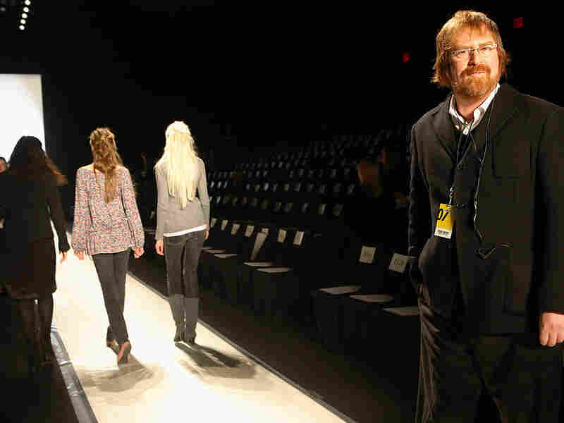 RJ Cutler on a fashion runway