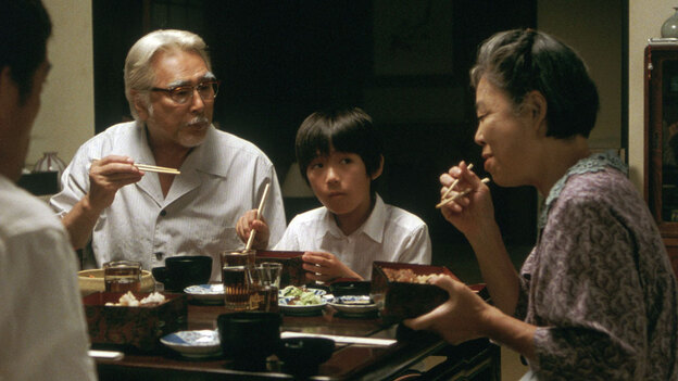 W:  Yoshio Harada, Shohei Tanaka and Kirin Kiki in 'Still Walking'