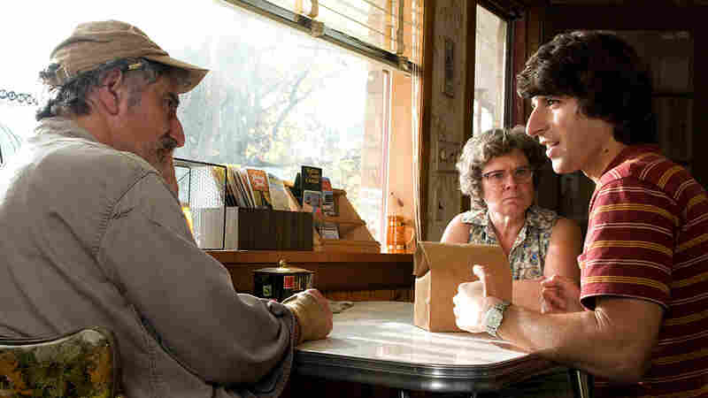 Henry Goodman, Imelda Staunton and Demetri Martin in 'Taking Woodstock'