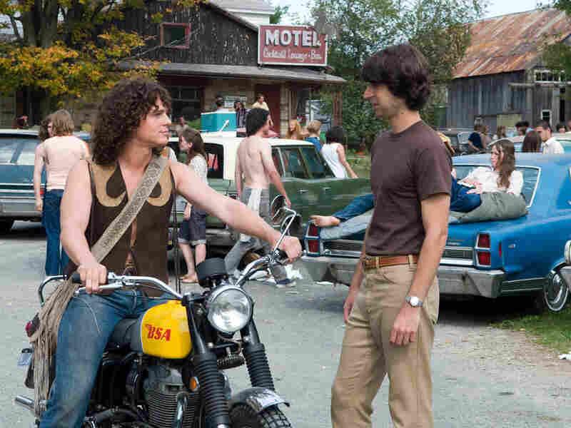 Jonathan Groff and Demetri Martin in 'Taking Woodstock'