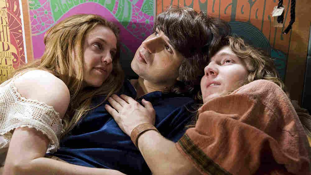 W: Kelli Garner, Demetri Martin, and Paul Dano in 'Taking Woodstock'