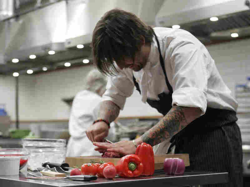 Ludo Lefebvre on 'Top Chef Masters'