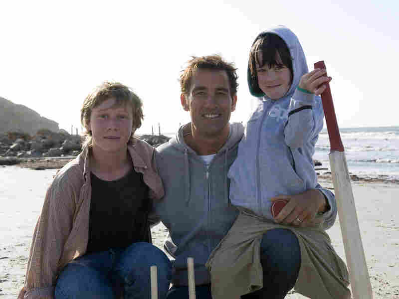 Clive Owen On The Beach
