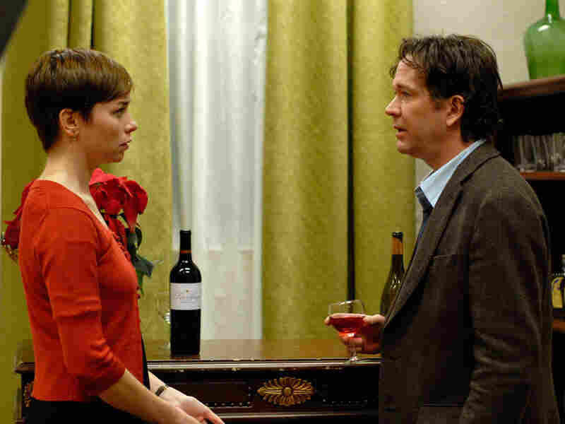 Julianne Nicholson and Timothy Hutton in 'Brief Interviews with Hideous Men'