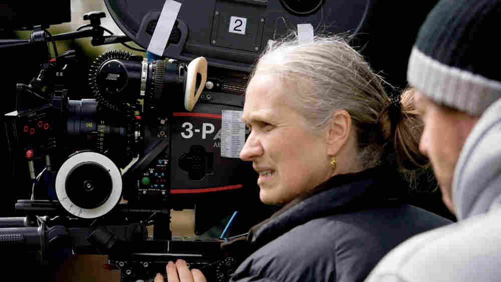 Director Jane Campion on the set of 'Bright Star.'