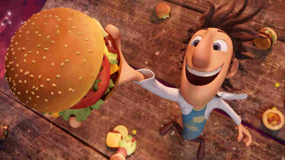 Flint Lockwood (voiced by Bill Hader) in 'Cloudy With a Chance of Meatballs'