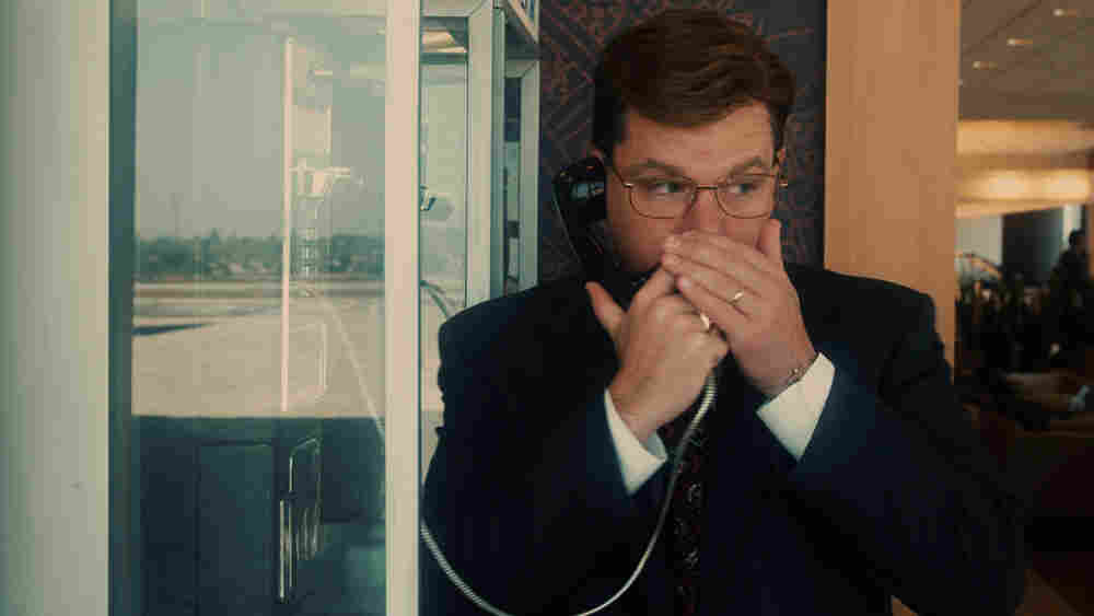 Matt Damon as 'The Informant!'