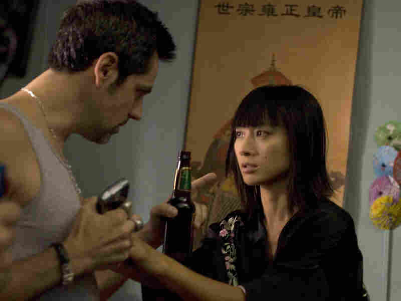 Stefan Banica and Bai Ling in 'A Beautiful Life'