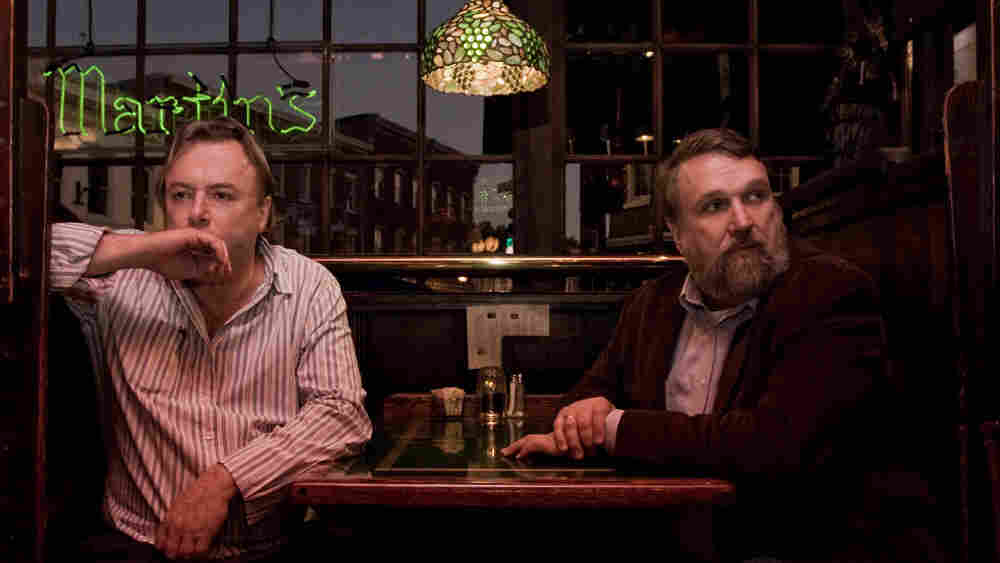 Christopher Hitchens (left) and Douglas Wilson in 'Collision'