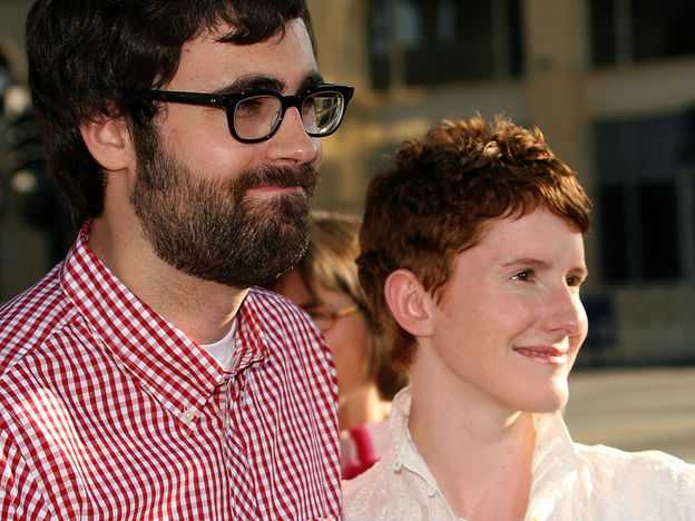 Filmmakers Jared and Jerusha Hess — seen arriving at the premiere of their comedy <em>Nacho Libre</em> — have shown a knack for capturing the sometimes offbeat rhythms of small-town life. Jared Hess says much of their cult hit <em>Napoleon Dynamite</em> was based on his upbringing in rural Idaho.