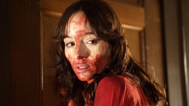W: Jocelin Donahue in 'The House of the Devil'
