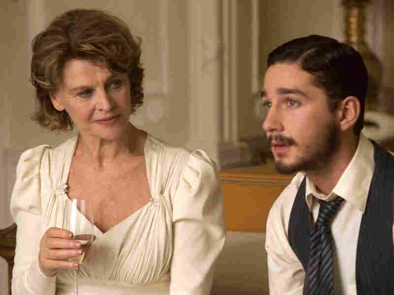 Julie Christie and Shia LaBeouf in 'New York, I Love You'