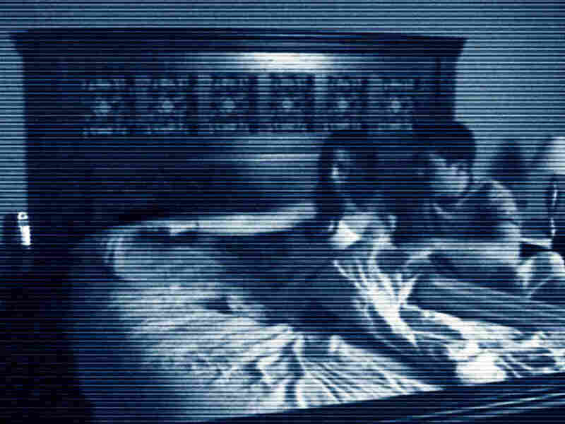 Katie and Micha seen on grainy video in 'Paranormal Activity'