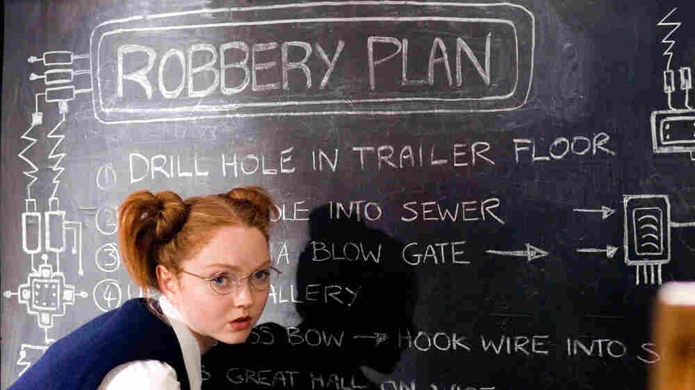 Lily Cole in 'St. Trinian's'