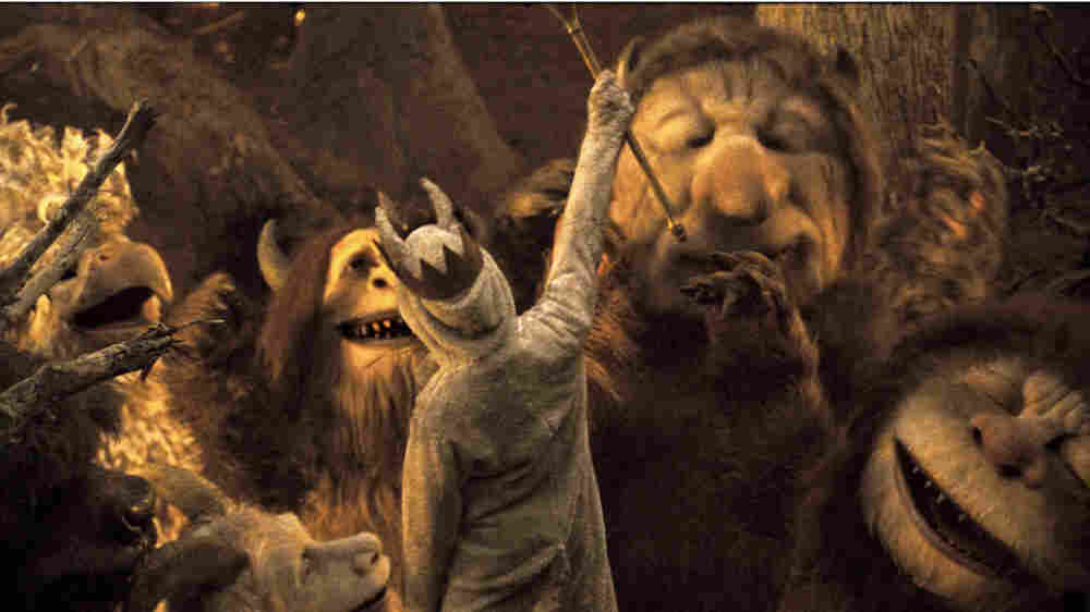 W: Max Records in 'Where The Wild Things Are'