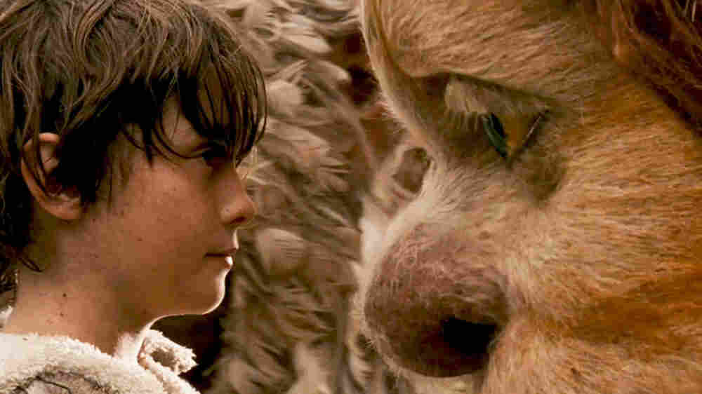 W: Max (Max Records) and KW (Lauren Ambrose) in 'Where The Wild Things Are'
