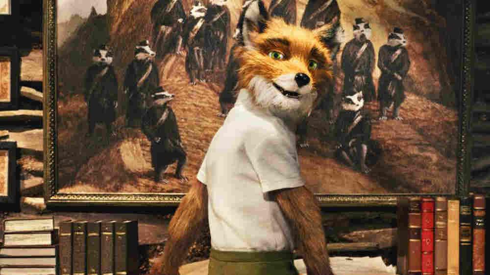 W: Mr. Fox (voiced by George Clooney) in 'Fantastic Mr. Fox'