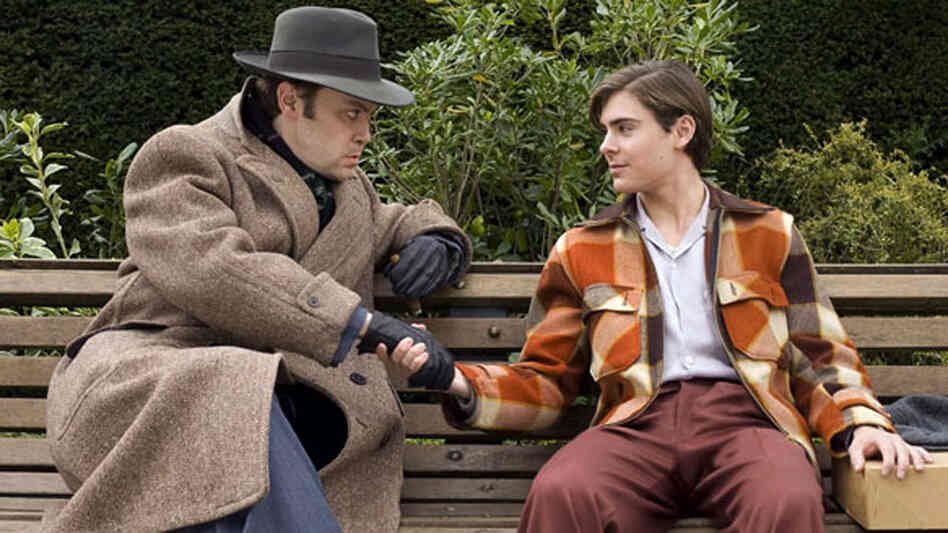 Christian McKay and Zac Efron in 'Me and Orson Welles'