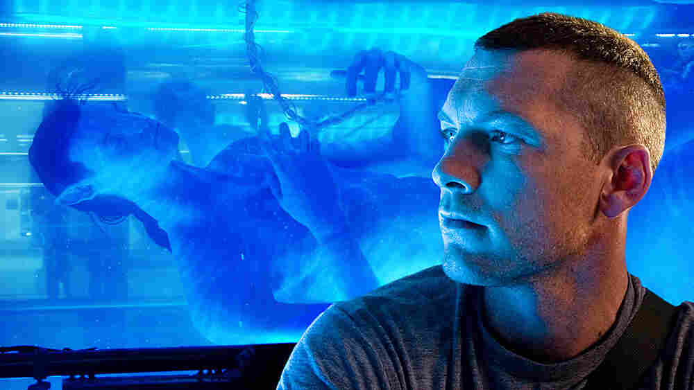 W: Sam Worthington in 'Avatar'