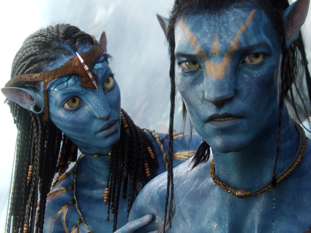 Two Na'vi