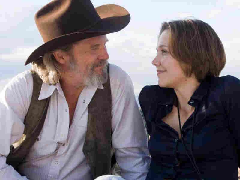 Jeff Bridges and Maggie Gyllenhall in 'Crazy Heart'