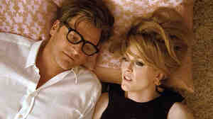 Colin Firth and Julianne Moore in 'A Single Man'