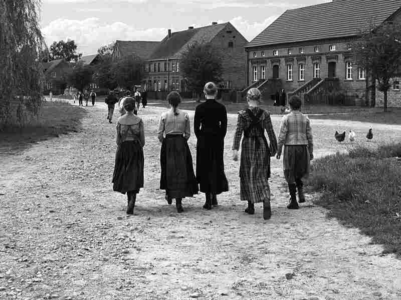 Village children from 'The White Ribbon'