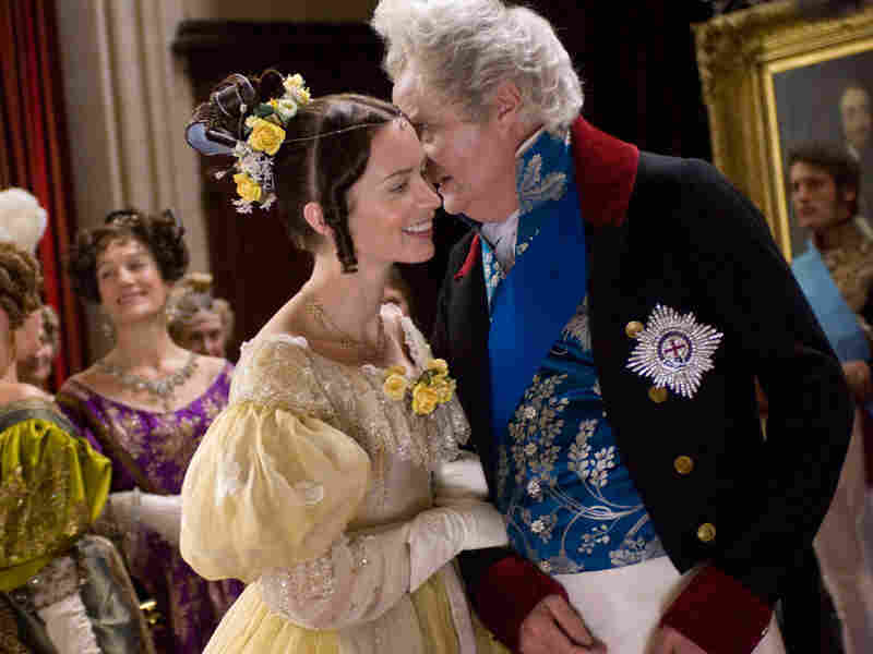 Emily Blunt and Jim Broadbent in 'The Young Victoria'