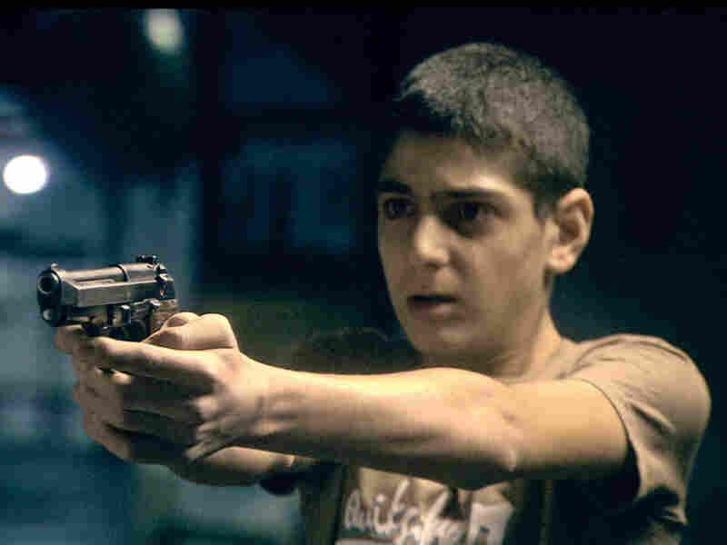 Fouad Habash as Nasri in 'Ajami'