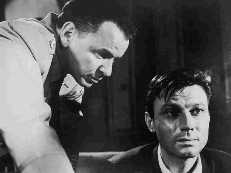 Frank Sinatra and Laurence Harvey