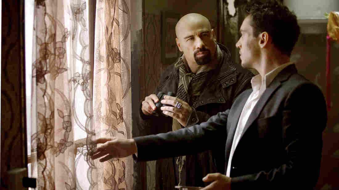 John Travolta and Jonathan Rhys Meyers