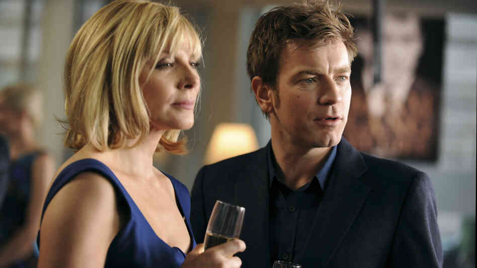 Ewan McGregor and Kim Catrall