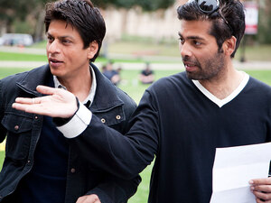Shah Rukh Khan and director Karan Johar