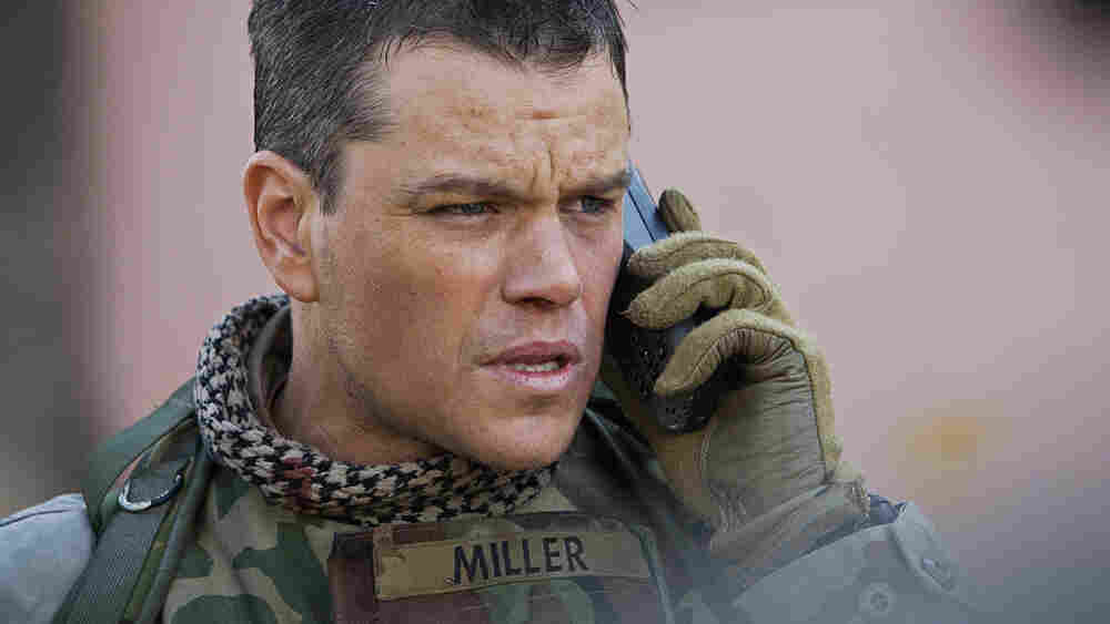 Matt Damon in 'Green Zone'