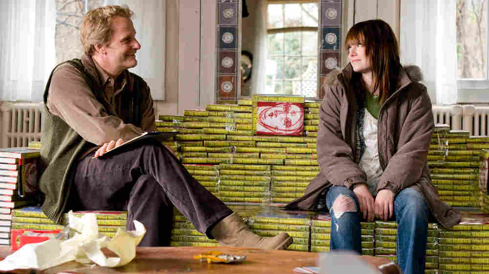 Jeff Daniels and Emma Stone
