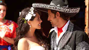Barbara Mori and Hrithik Roshan in 'Kites'