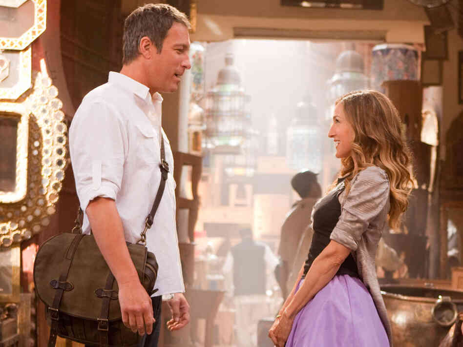 John Corbett and Sarah Jessica Parker in 'Sex and the City 2'