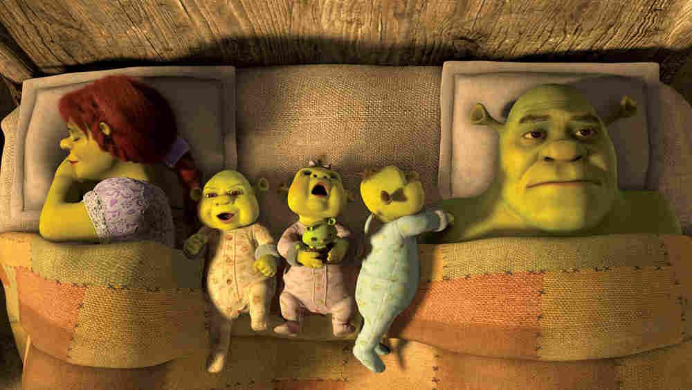 Fiona, Kids, Shrek