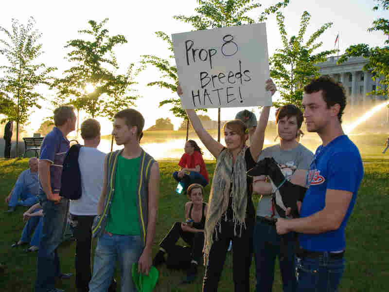 Prop 8 protesters, California 2008