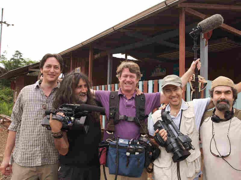 Joe Berlinger and his documentary film crew