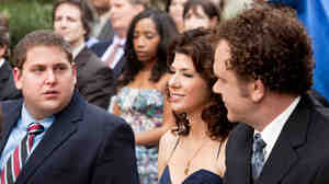 Jonah Hill, Marisa Tomei and John C. Reilly