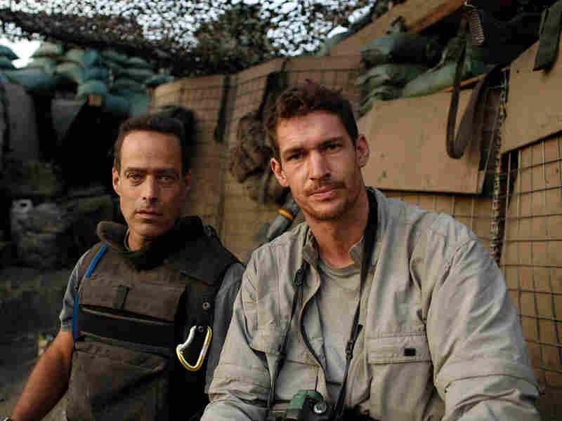 Sebastian Junger and Tim Hetherington