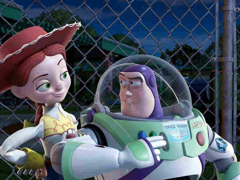 Jessie, Buzz and Woody