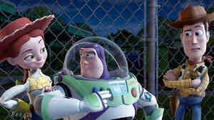 Jessie, Buzz, and Woody