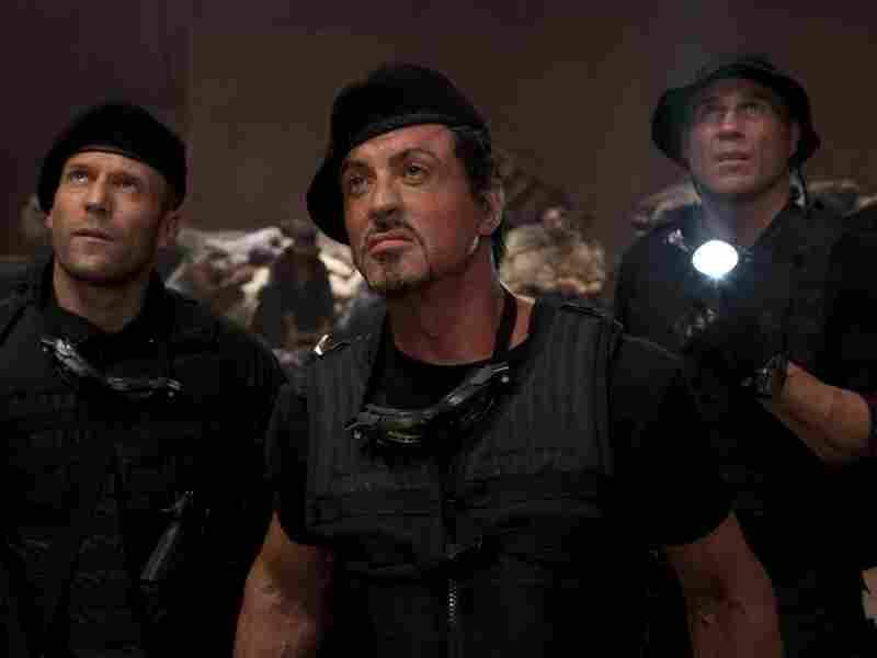 Jason Statham, Sylvester Stallone, Randy Couture