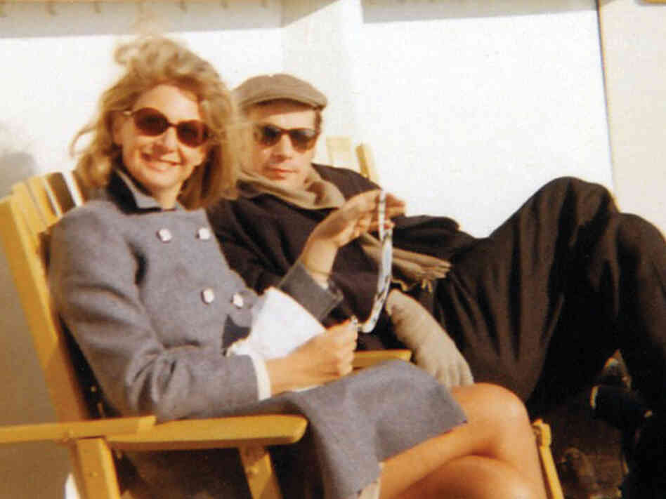 Cornelia Foss and Glenn Gould